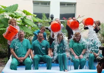 Southeast Georgia Physician Associates-Neurosciences team does the Ice Bucket Challenge